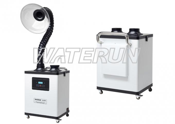 Digital Type Nail Salon Fume Extractor / Dust Extractor System ...