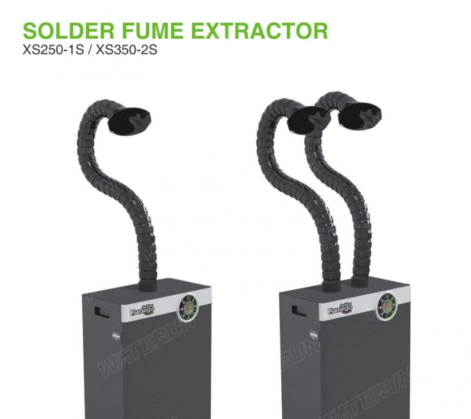 Welding Soldering Fume Extractor 0.3um 99.97% Filtering Efficiency With Single Arm