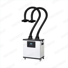 China Low Noise Beauty Nail Salon Fume Extractor / Nail Smell Purifying System 3 Filters/fume extraction system supplier