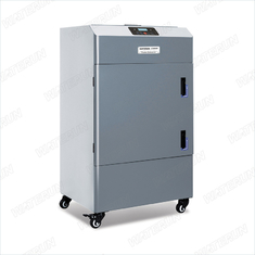 China F3000D Portable Electric Laser Cutter Fume Extractor Filters Metal Body Structure supplier