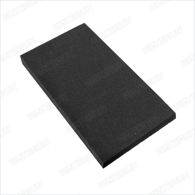 China Black color pre-filter Cotton 99.97% 0.3 Micron Filtering Efficiency supplier