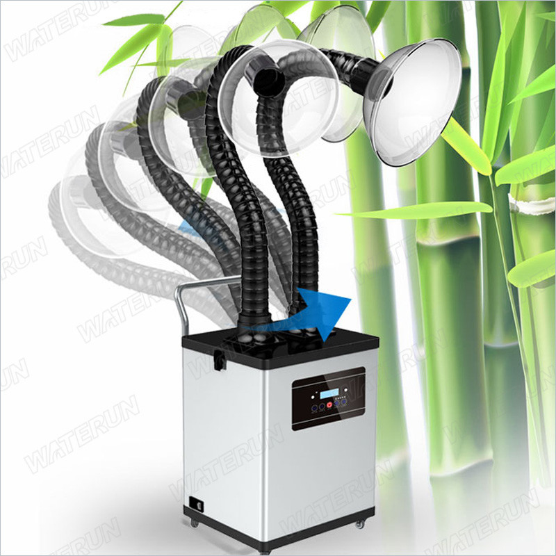 99 999% B1000D Medical Carbon Filter Fume Extractor , Smoke