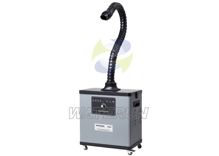 Welding Fume Extraction Systems : Flexible arm soldering smoke absorber fume eliminator