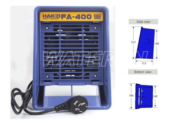 China Portable Benchtop Fume Smoke Absorber FA-400 for Soldering distributor