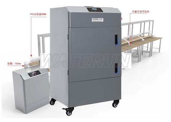 China Portable Fume Extraction Equipment for Purifying Laser Machine Fumes factory