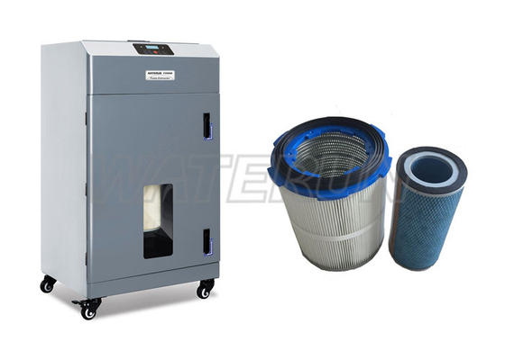 China Active Carbon Cartridge Dust Fume Extraction Systems Small Vibration distributor