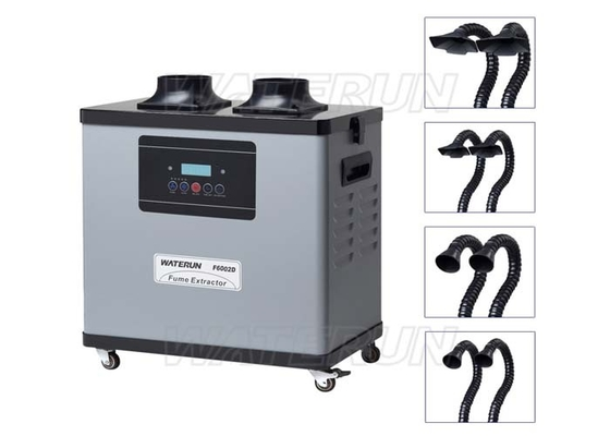 China Digital Industrial Portable Fume Extractor 200W Low Noise with Hepa Filter factory