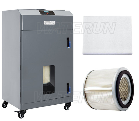 China Dust Filtering Fume Extraction System with Digital Display , 110V / 220V factory
