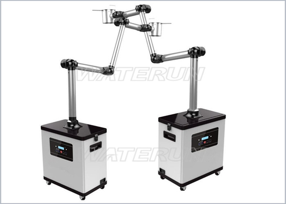 China 110V / 220V / 200W Beauty Nail Salon fume extractor CE Certification distributor
