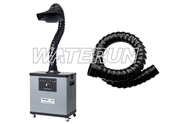China Single arm portable fume extraction systems welding fume filter low Noise factory