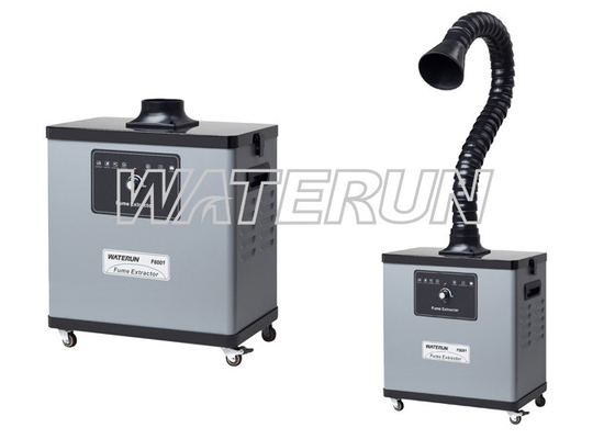 China One Arm Welding Fume Extractor , 80W solder smoke absorber Purifier in Soldering factory