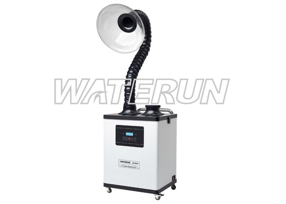 China Digital Type Nail Salon Fume Extractor / Dust Extractor System , 200w Hair Salon Air Purifier distributor