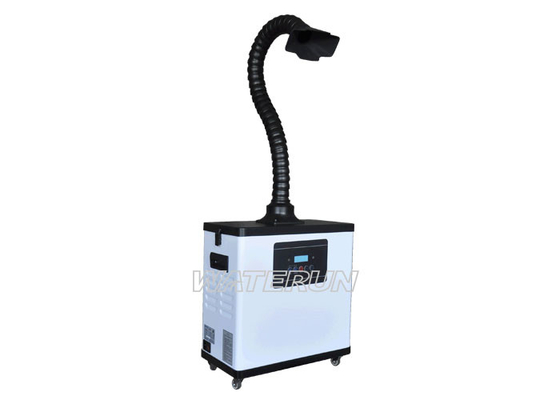 China Digital Medical Mobile Fume Extractor Purifying Large Volume Brushless Motor distributor