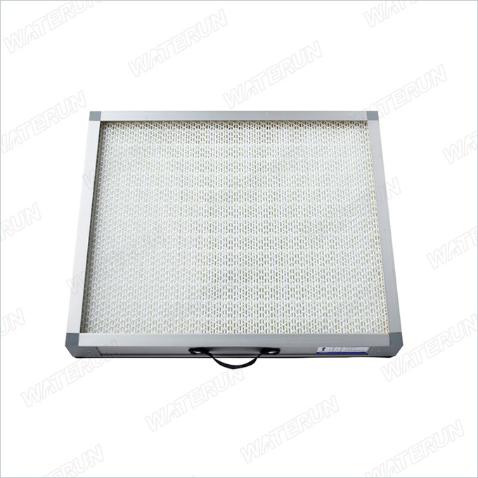 Glass Fiber Material Fume Extractor Filters Absorbing Dust Particles Above 0.3μM